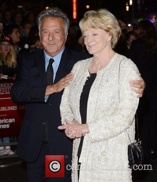 Dustin Hoffman, Maggie Smith, Quartet, Odeon, Leicester Square, London and England 11