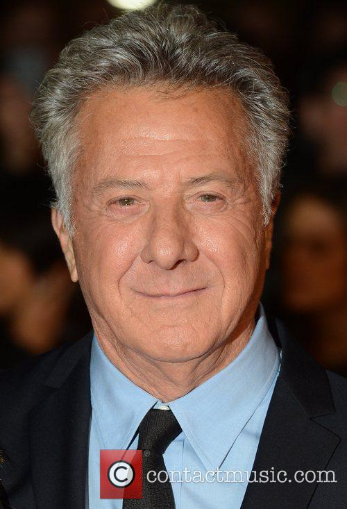 Dustin Hoffman, Quartet, Odeon, Leicester Square, London and England 10