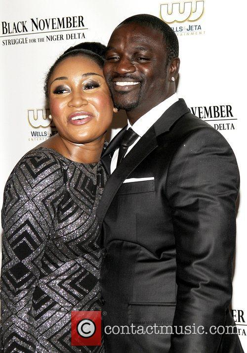 Mbong Amata and Akon 2