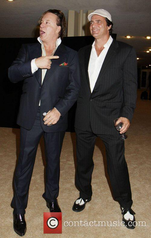 Mickey Rourke and John Enos