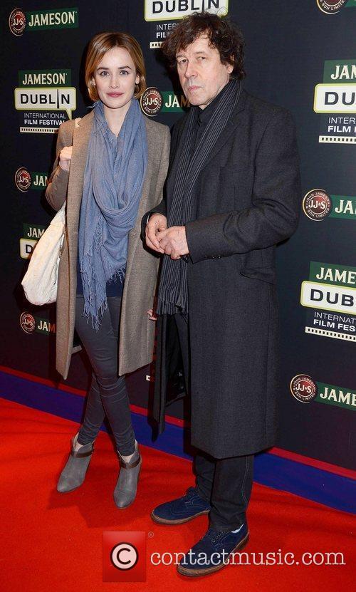 Dominique Mcelligott, Stephen Rea and Dublin International Film Festival
