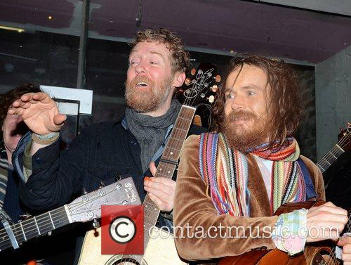 Damien Rice and Glen Hansard