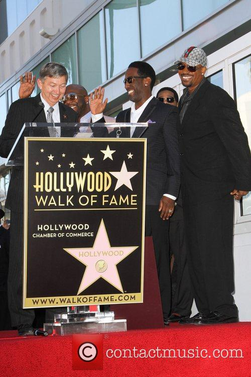 Boyz Ii Men, Star On The Hollywood Walk Of Fame and Walk Of Fame