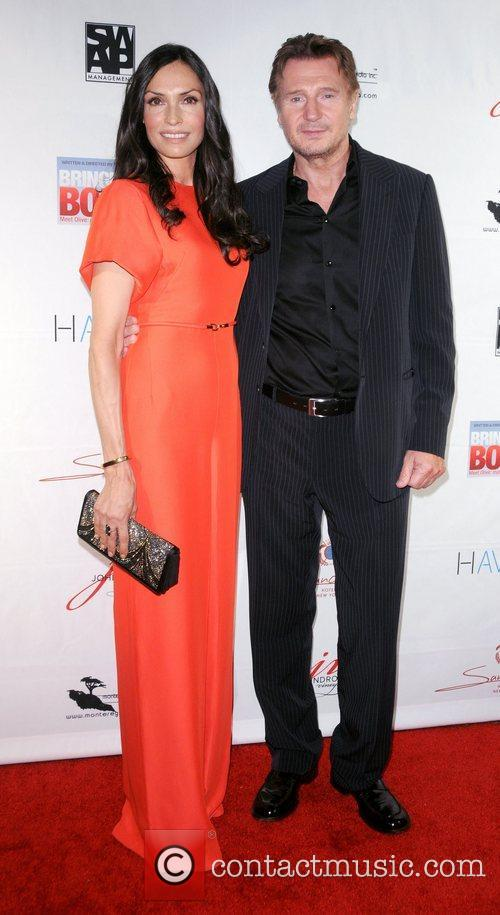 Famke Janssen and Liam Neeson