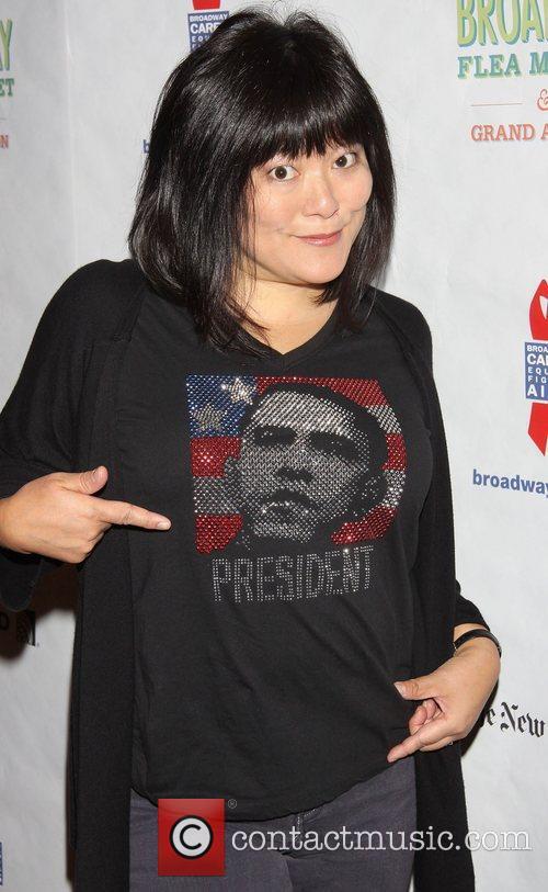 Ann Harada and Obama T-shirt 8