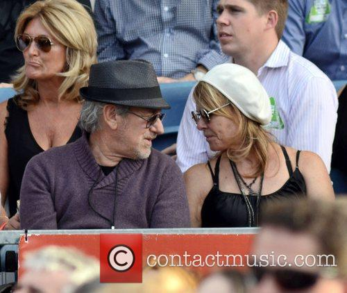 Steven Spielberg, Bruce Springsteen and Kate Capshaw 1