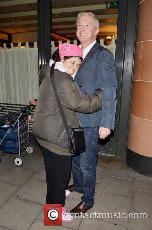 Louis Walsh, Tanya Macintosh and X Factor 1
