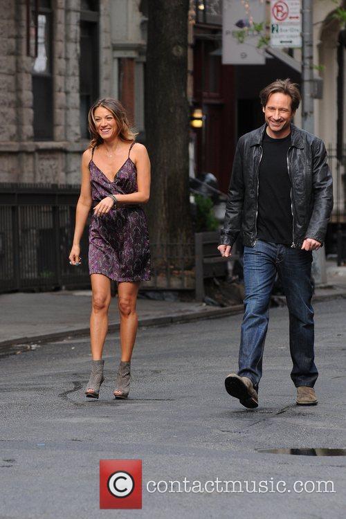 David Duchovny and Natalie Zea 7