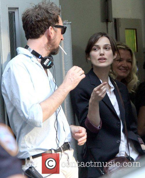 John Carney and Keira Knightley