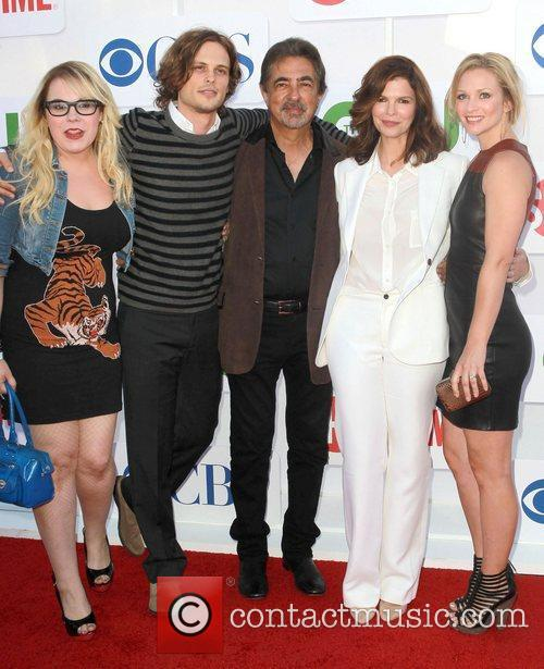 Kirsten Vangsness, A.j. Cook, Jeanne Tripplehorn, Joe Mantegna, Matthew Gray Gubler and Beverly Hilton Hotel