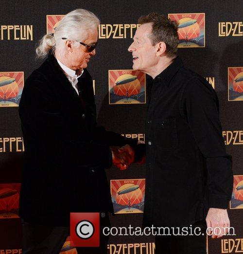 Jimmy Page, John Paul Jones and Led Zeppelin