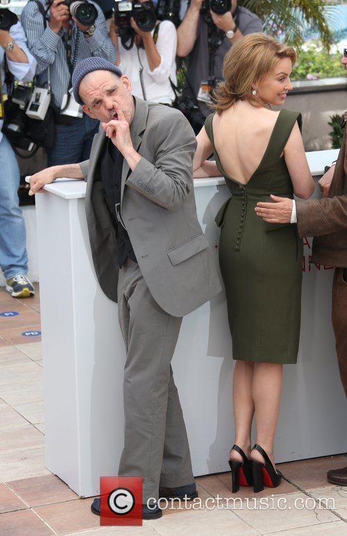 Denis Lavant and Kylie Minogue