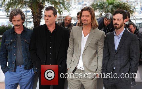 Ben Mendelsohn, Brad Pitt, Ray Liotta and Scoot Mcnairy