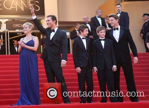 Reese Witherspoon, Matthew Mcconaughey, Tye Sheridan and Jacob Lofland