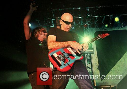 Joe Satriani and Sammy Hagar
