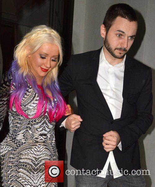 Christina Aguilera and Matthew Rutler 4