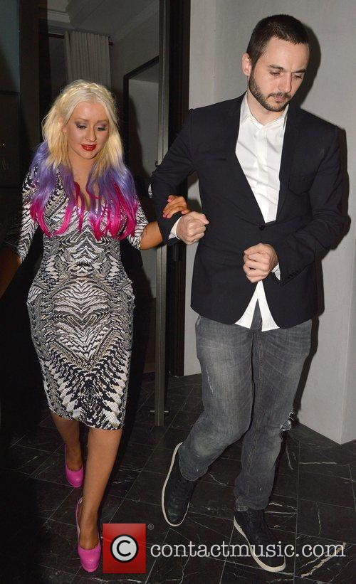 Christina Aguilera and Matthew Rutler 5