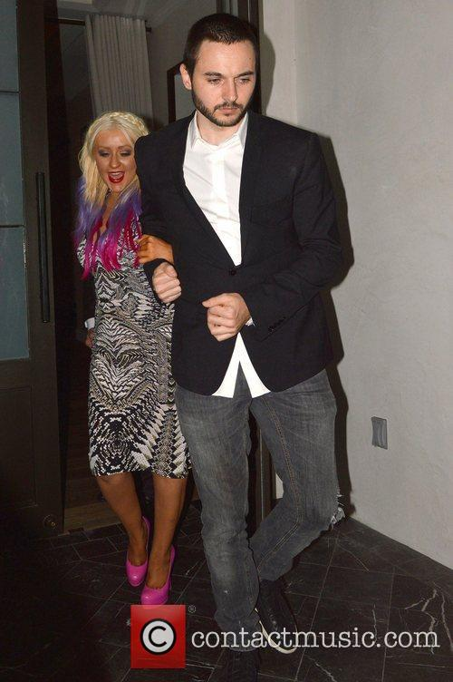 Christina Aguilera and Matthew Rutler 3