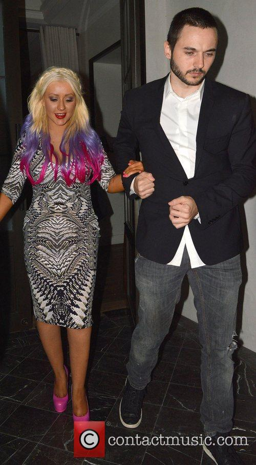 Christina Aguilera and Matthew Rutler 1