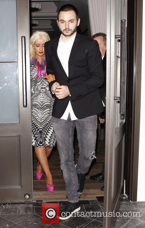 Christina Aguilera and Matthew Rutler 11