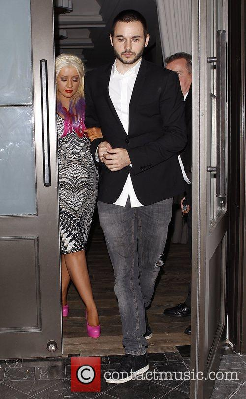 Christina Aguilera and Matthew Rutler 7