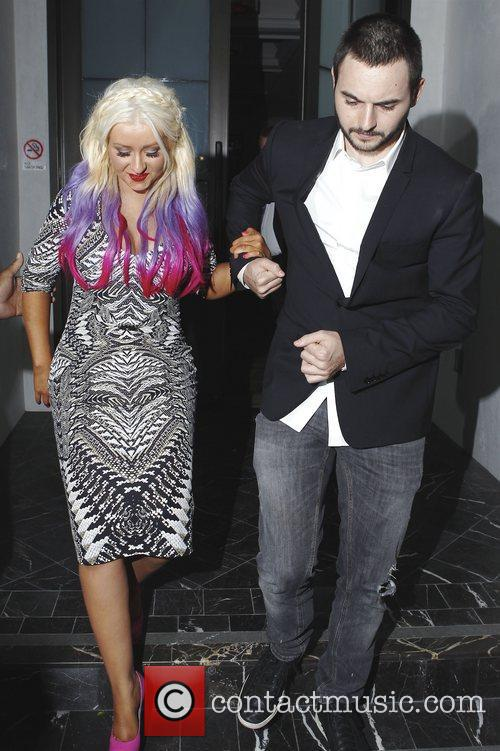 Christina Aguilera and Matthew Rutler 8