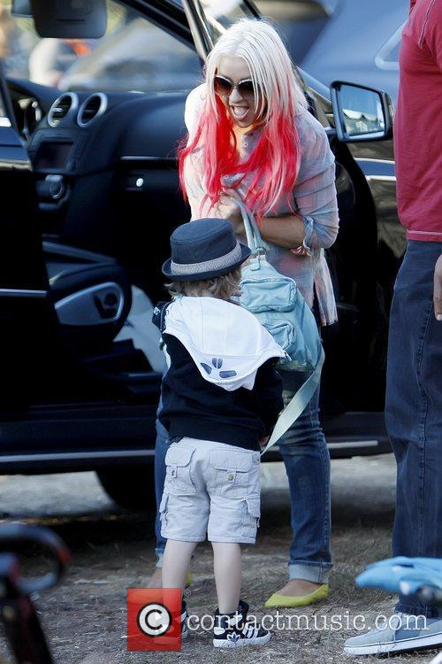 Max Bratman and Christina Aguilera 4