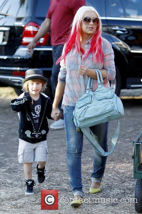 Max Bratman and Christina Aguilera 9