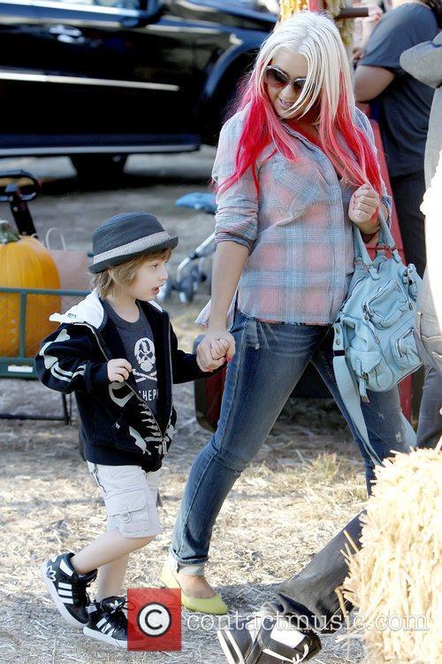 Max Bratman and Christina Aguilera 2