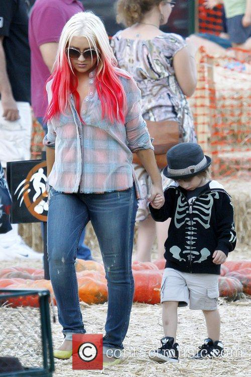 Max Bratman and Christina Aguilera 10
