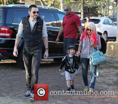 Max Bratman and Christina Aguilera 11