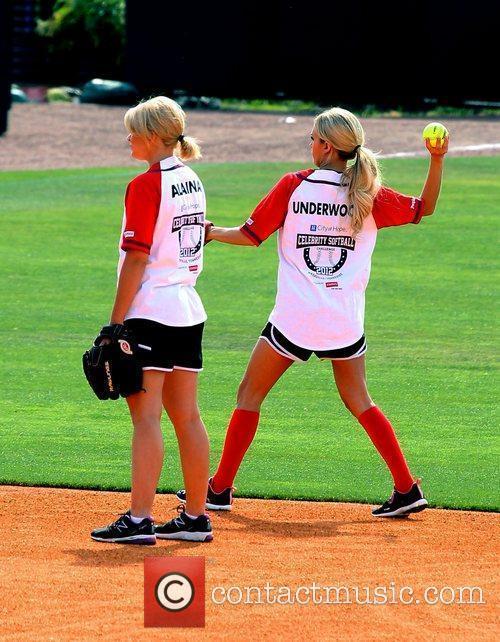 Lauren Alaina and Carrie Underwood