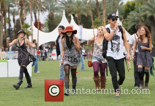 Vanessa Hudgens, Austin Butler and Coachella 2
