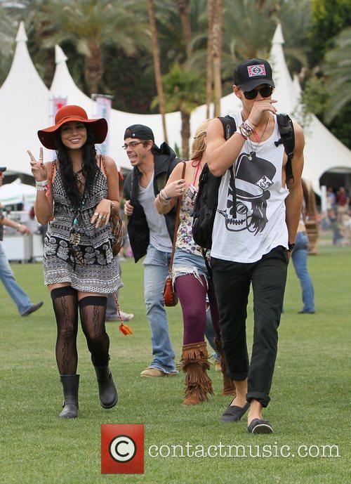 Vanessa Hudgens, Austin Butler and Coachella 3