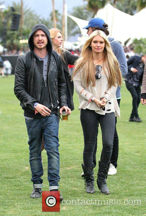 Aaron Paul and Coachella 1