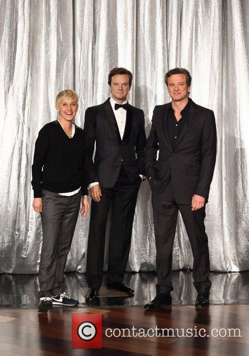 Colin Firth, Ellen Degeneres, Madame Tussauds and Oscars