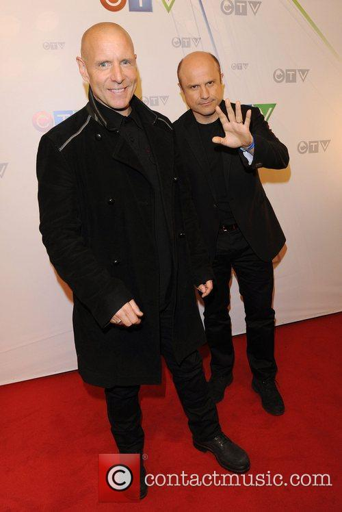 Hugh Dillon and Enrico Colantoni