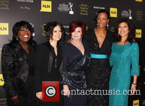 Sara Gilbert, Aisha Tyler, Julie Chen, Sharon Osbourne and Daytime Emmy Awards