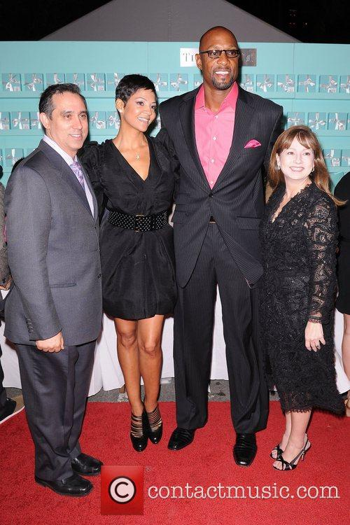 Alonzo Mourning and Tracy Wilson Mourning 8