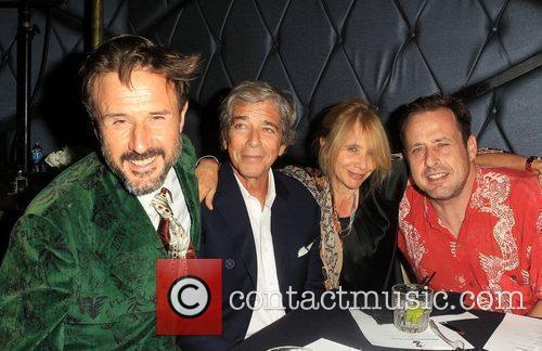 David Arquette, Richmond Arquette and Rosanna Arquette