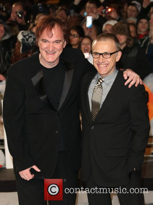 Quentin Tarantino, Christoph Waltz and Empire Leicester Square