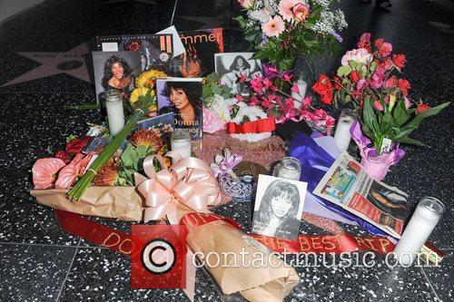 Donna Summer and Walk Of Fame