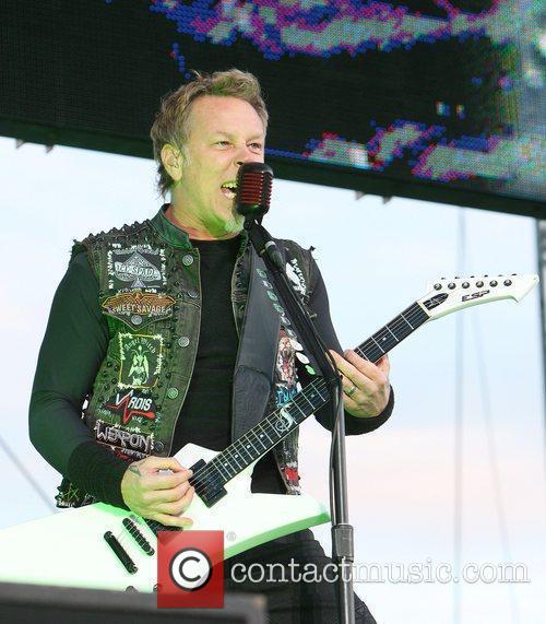 James Hetfield, Metallica and Download Festival 2