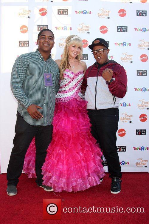 Chris Massey, Barbie and Kyle Massey