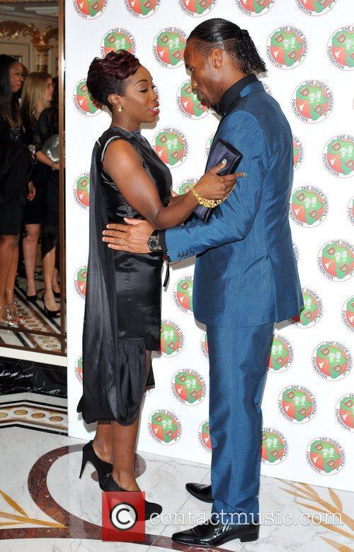 Didier Drogba and Estelle 3