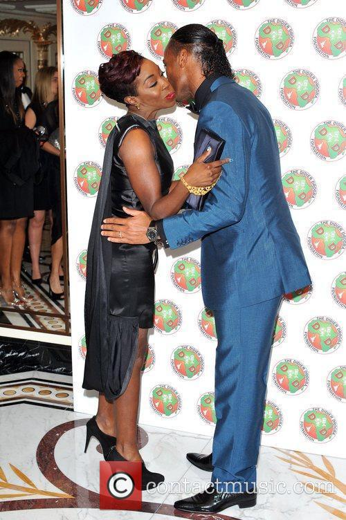 Didier Drogba and Estelle 4