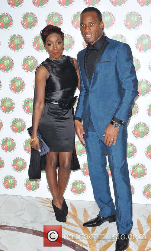 Didier Drogba and Estelle
