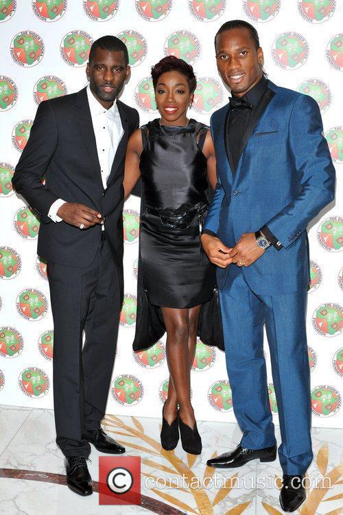 Didier Drogba, Estelle and Wretch 32 2
