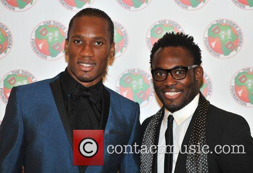 Didier Drogba and Michael Essien 6