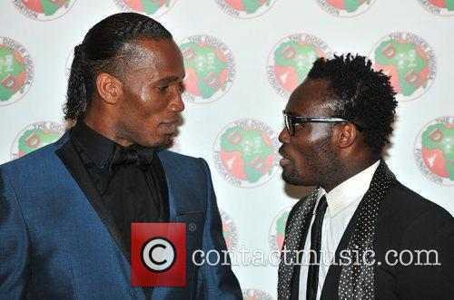 Didier Drogba and Michael Essien 7